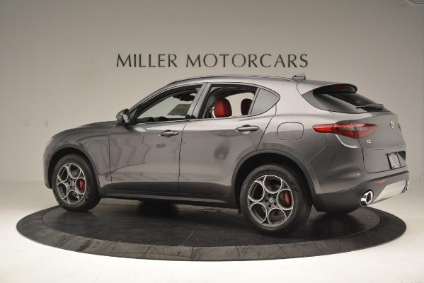 New 2019 Alfa Romeo Stelvio Sport Q4 for sale Sold at Aston Martin of Greenwich in Greenwich CT 06830 4