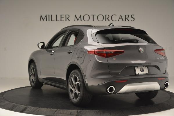 New 2019 Alfa Romeo Stelvio Sport Q4 for sale Sold at Aston Martin of Greenwich in Greenwich CT 06830 5