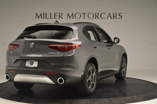 New 2019 Alfa Romeo Stelvio Sport Q4 for sale Sold at Aston Martin of Greenwich in Greenwich CT 06830 7