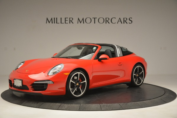 Used 2016 Porsche 911 Targa 4S for sale Sold at Aston Martin of Greenwich in Greenwich CT 06830 2