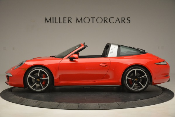 Used 2016 Porsche 911 Targa 4S for sale Sold at Aston Martin of Greenwich in Greenwich CT 06830 3