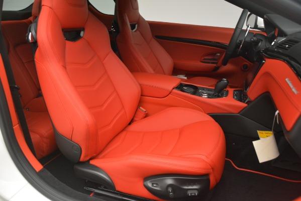 New 2018 Maserati GranTurismo Sport for sale Sold at Aston Martin of Greenwich in Greenwich CT 06830 22