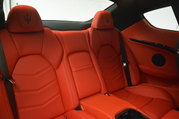 New 2018 Maserati GranTurismo Sport for sale Sold at Aston Martin of Greenwich in Greenwich CT 06830 24