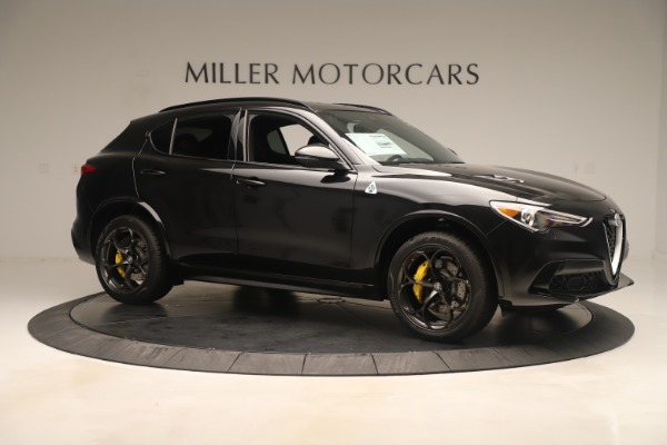 Used 2019 Alfa Romeo Stelvio Quadrifoglio for sale $68,500 at Aston Martin of Greenwich in Greenwich CT 06830 10