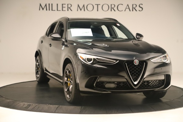 Used 2019 Alfa Romeo Stelvio Quadrifoglio for sale $68,500 at Aston Martin of Greenwich in Greenwich CT 06830 11