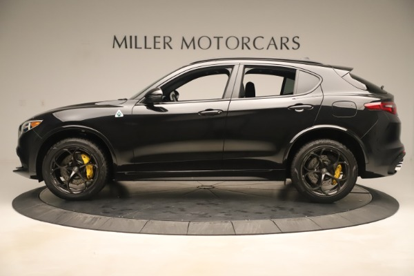 Used 2019 Alfa Romeo Stelvio Quadrifoglio for sale $68,500 at Aston Martin of Greenwich in Greenwich CT 06830 3