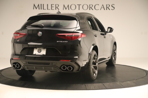 Used 2019 Alfa Romeo Stelvio Quadrifoglio for sale $68,500 at Aston Martin of Greenwich in Greenwich CT 06830 7