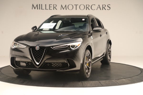 Used 2019 Alfa Romeo Stelvio Quadrifoglio for sale $68,500 at Aston Martin of Greenwich in Greenwich CT 06830 1