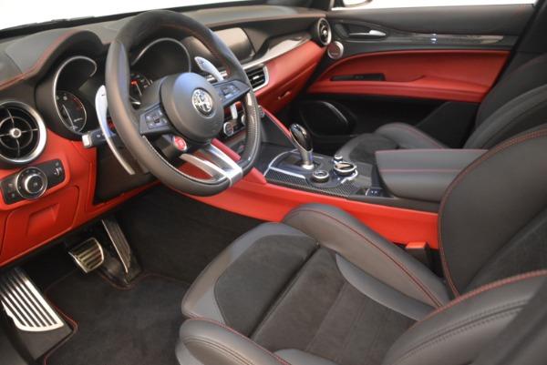 New 2019 Alfa Romeo Stelvio Quadrifoglio for sale Sold at Aston Martin of Greenwich in Greenwich CT 06830 13
