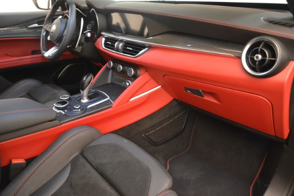 New 2019 Alfa Romeo Stelvio Quadrifoglio for sale Sold at Aston Martin of Greenwich in Greenwich CT 06830 19