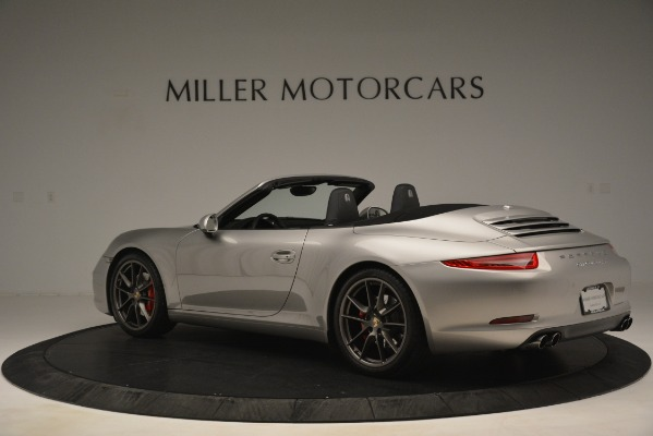 Used 2013 Porsche 911 Carrera S for sale Sold at Aston Martin of Greenwich in Greenwich CT 06830 4