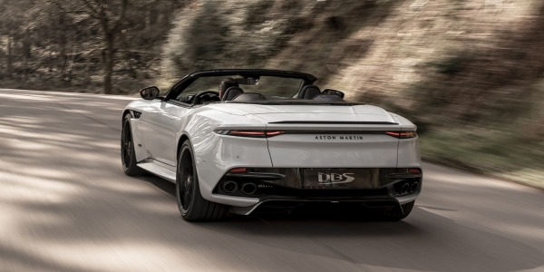 New 2020 Aston Martin DBS Convertible for sale Call for price at Aston Martin of Greenwich in Greenwich CT 06830 3