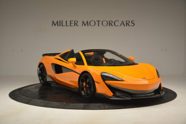 New 2020 McLaren 600LT Spider Convertible for sale Sold at Aston Martin of Greenwich in Greenwich CT 06830 11