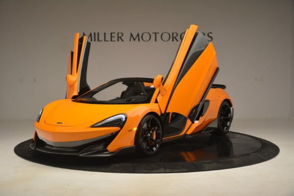 New 2020 McLaren 600LT Spider Convertible for sale Sold at Aston Martin of Greenwich in Greenwich CT 06830 14