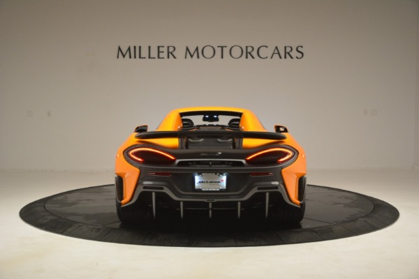 New 2020 McLaren 600LT Spider Convertible for sale Sold at Aston Martin of Greenwich in Greenwich CT 06830 18
