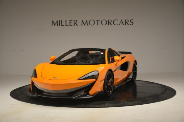 New 2020 McLaren 600LT Spider Convertible for sale Sold at Aston Martin of Greenwich in Greenwich CT 06830 2