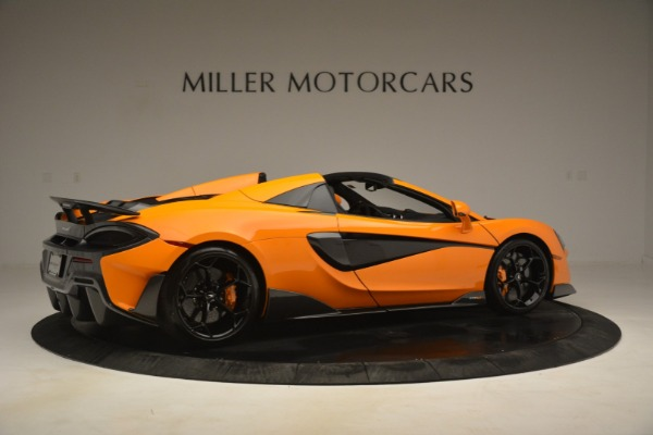 New 2020 McLaren 600LT Spider Convertible for sale Sold at Aston Martin of Greenwich in Greenwich CT 06830 8