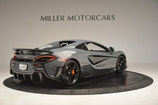 New 2020 McLaren 600LT Spider Convertible for sale Sold at Aston Martin of Greenwich in Greenwich CT 06830 19