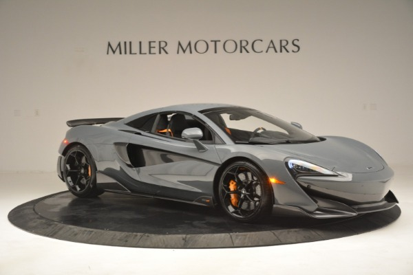 New 2020 McLaren 600LT Spider Convertible for sale Sold at Aston Martin of Greenwich in Greenwich CT 06830 21