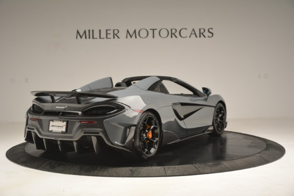 New 2020 McLaren 600LT Spider Convertible for sale Sold at Aston Martin of Greenwich in Greenwich CT 06830 7