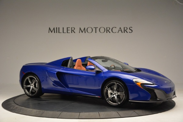 Used 2015 McLaren 650S Spider Convertible for sale Sold at Aston Martin of Greenwich in Greenwich CT 06830 10