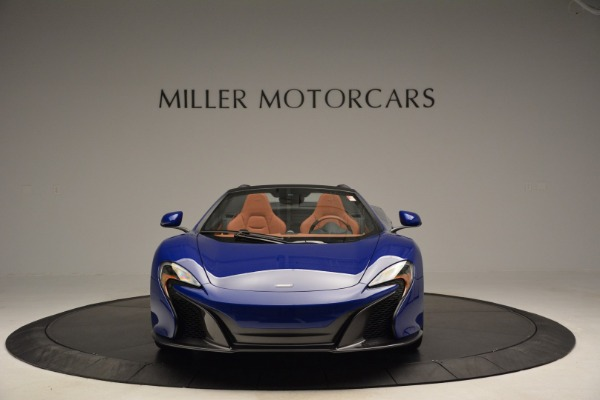 Used 2015 McLaren 650S Spider Convertible for sale Sold at Aston Martin of Greenwich in Greenwich CT 06830 12