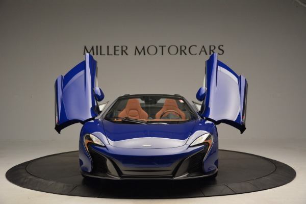Used 2015 McLaren 650S Spider Convertible for sale Sold at Aston Martin of Greenwich in Greenwich CT 06830 13