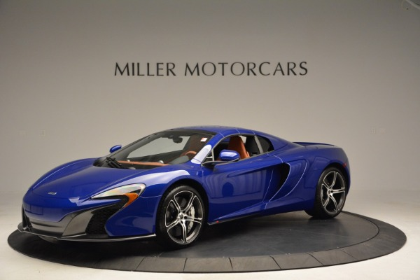 Used 2015 McLaren 650S Spider Convertible for sale Sold at Aston Martin of Greenwich in Greenwich CT 06830 14