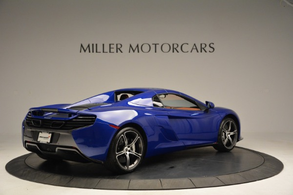 Used 2015 McLaren 650S Spider Convertible for sale Sold at Aston Martin of Greenwich in Greenwich CT 06830 18