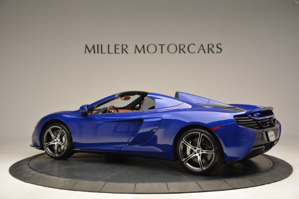 Used 2015 McLaren 650S Spider Convertible for sale Sold at Aston Martin of Greenwich in Greenwich CT 06830 4