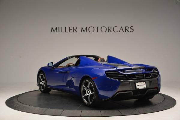 Used 2015 McLaren 650S Spider Convertible for sale Sold at Aston Martin of Greenwich in Greenwich CT 06830 5