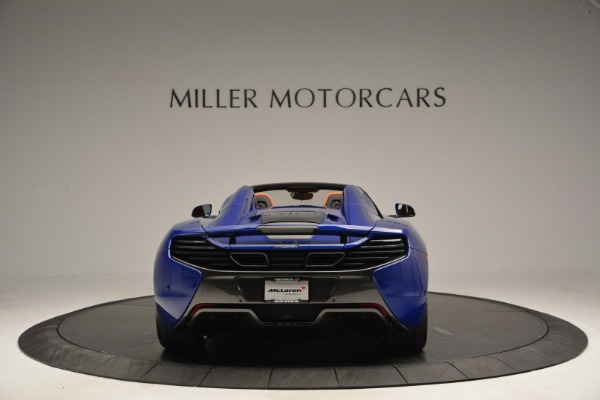 Used 2015 McLaren 650S Spider Convertible for sale Sold at Aston Martin of Greenwich in Greenwich CT 06830 6