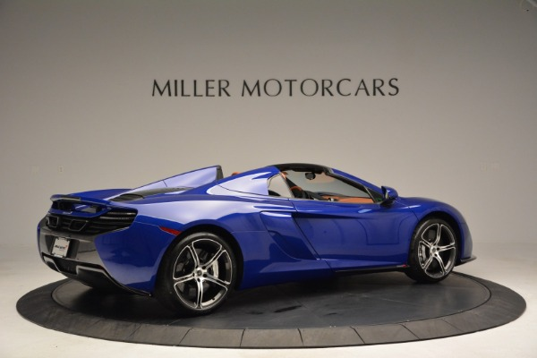 Used 2015 McLaren 650S Spider Convertible for sale Sold at Aston Martin of Greenwich in Greenwich CT 06830 8