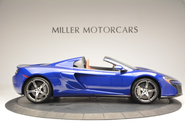 Used 2015 McLaren 650S Spider Convertible for sale Sold at Aston Martin of Greenwich in Greenwich CT 06830 9