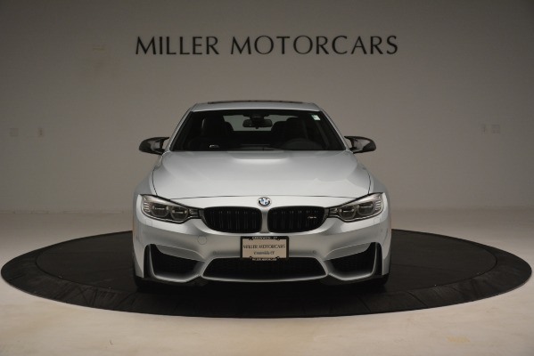 Used 2017 BMW M4 Competition PKG for sale Sold at Aston Martin of Greenwich in Greenwich CT 06830 7