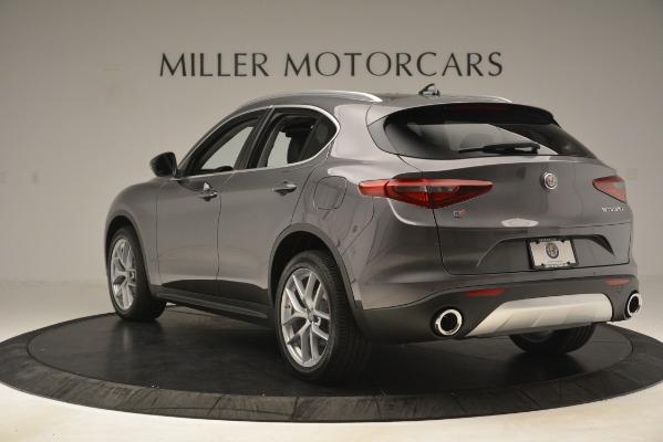New 2019 Alfa Romeo Stelvio Ti Lusso Q4 for sale Sold at Aston Martin of Greenwich in Greenwich CT 06830 5