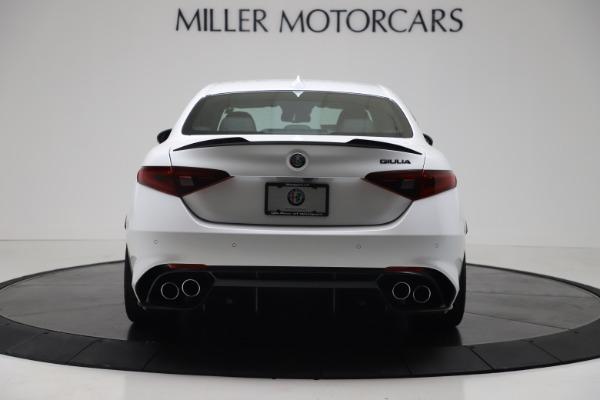 New 2019 Alfa Romeo Giulia Quadrifoglio for sale Sold at Aston Martin of Greenwich in Greenwich CT 06830 6