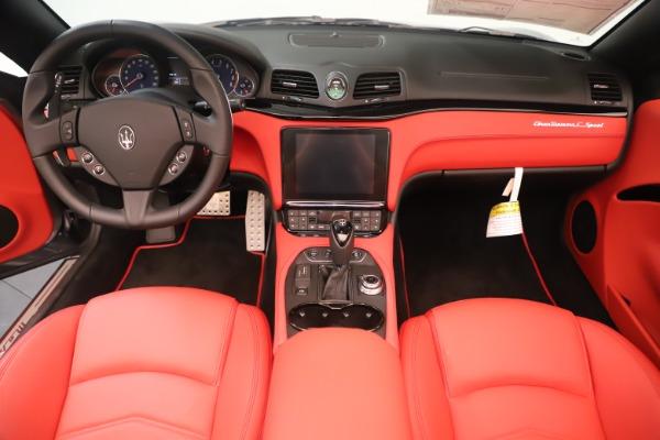 New 2018 Maserati GranTurismo Sport Convertible for sale Sold at Aston Martin of Greenwich in Greenwich CT 06830 22