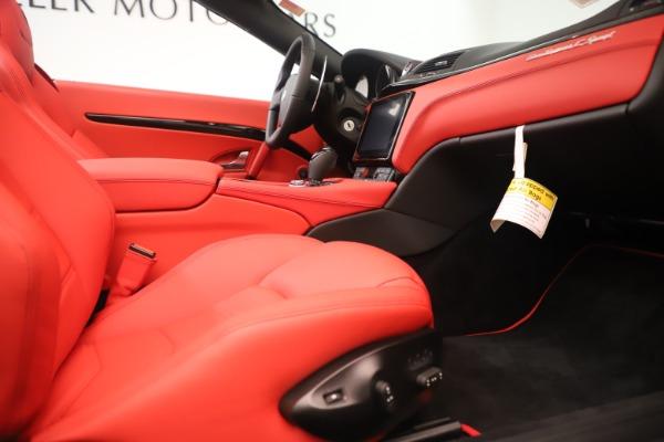 New 2018 Maserati GranTurismo Sport Convertible for sale Sold at Aston Martin of Greenwich in Greenwich CT 06830 27