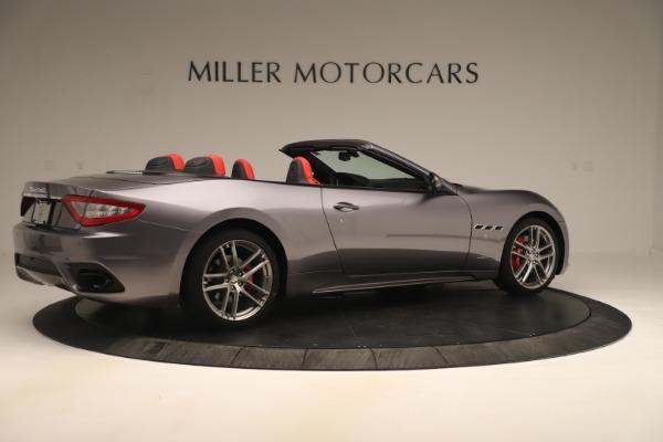 New 2018 Maserati GranTurismo Sport Convertible for sale Sold at Aston Martin of Greenwich in Greenwich CT 06830 8