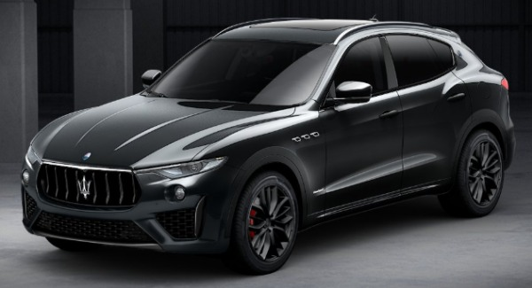 New 2019 Maserati Levante SQ4 GranSport Nerissimo for sale Sold at Aston Martin of Greenwich in Greenwich CT 06830 1