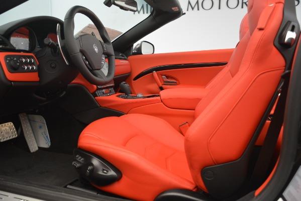 New 2018 Maserati GranTurismo Sport Convertible for sale Sold at Aston Martin of Greenwich in Greenwich CT 06830 26