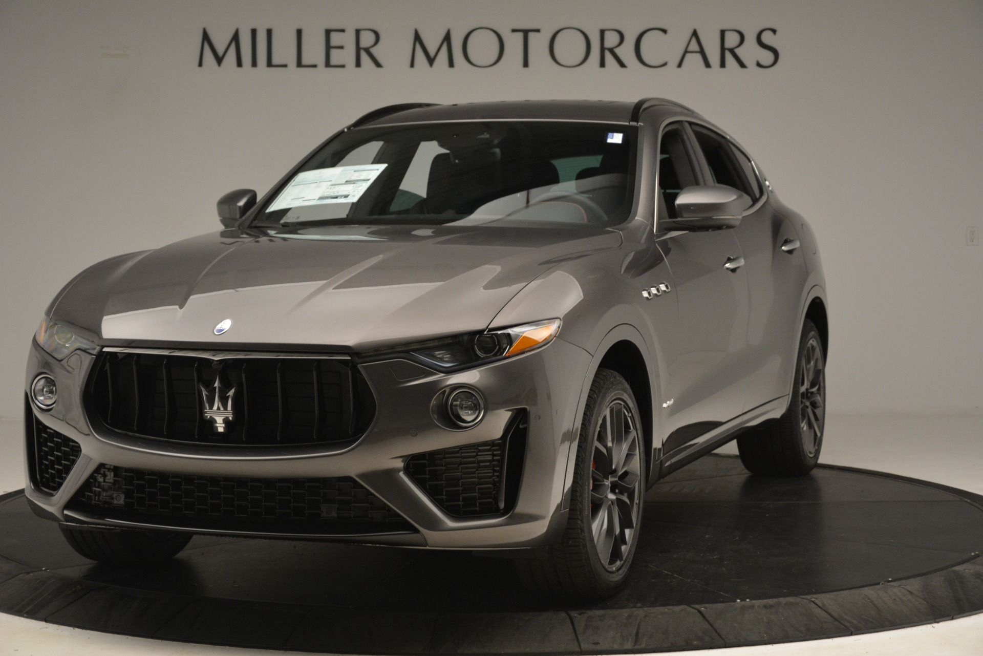 New 2019 Maserati Levante S Q4 GranSport for sale Sold at Aston Martin of Greenwich in Greenwich CT 06830 1