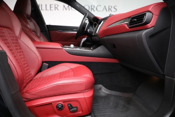New 2019 Maserati Levante S Q4 GranSport for sale Sold at Aston Martin of Greenwich in Greenwich CT 06830 22