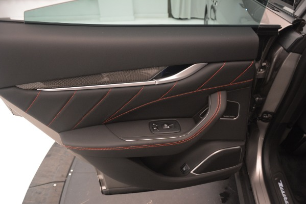 New 2019 Maserati Levante SQ4 GranSport Nerissimo for sale Sold at Aston Martin of Greenwich in Greenwich CT 06830 21
