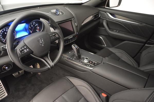 New 2019 Maserati Levante SQ4 GranSport Nerissimo for sale Sold at Aston Martin of Greenwich in Greenwich CT 06830 13