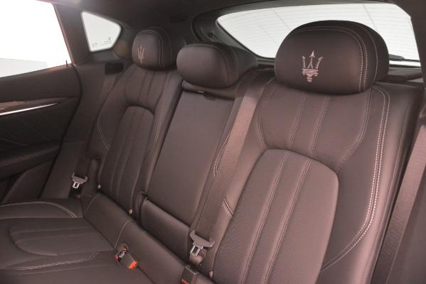 New 2019 Maserati Levante SQ4 GranSport Nerissimo for sale Sold at Aston Martin of Greenwich in Greenwich CT 06830 18