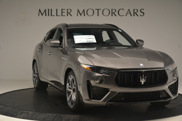 New 2019 Maserati Levante S Q4 GranSport for sale $104,840 at Aston Martin of Greenwich in Greenwich CT 06830 11