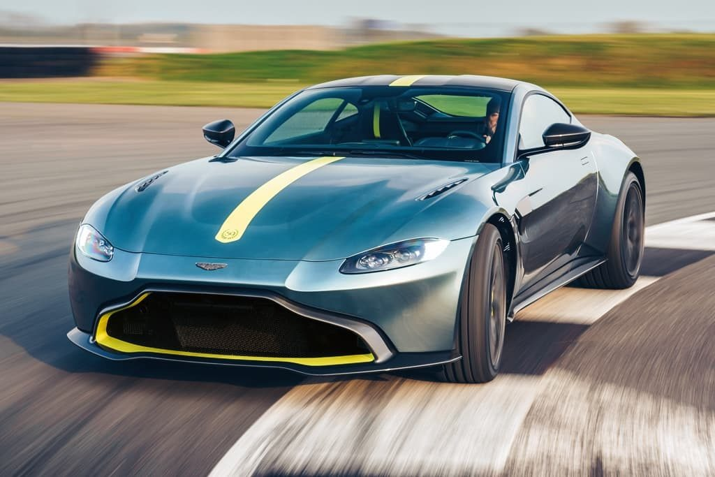 New 2020 Aston Martin Vantage AMR Coupe for sale Sold at Aston Martin of Greenwich in Greenwich CT 06830 1