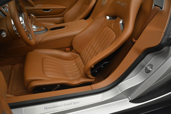 Used 2010 Bugatti Veyron 16.4 Grand Sport for sale Sold at Aston Martin of Greenwich in Greenwich CT 06830 25